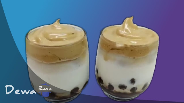 Resep Dalgona Coffee Nescafe Tanpa Mixer