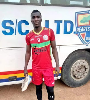 ABEDNEGO TETTEH WILL BE PLEASED TO HELP HEARTS END TROPHY DROUGHT