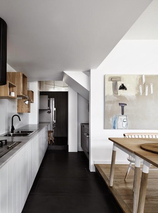 Casas con encanto decoracin en blanco y negro