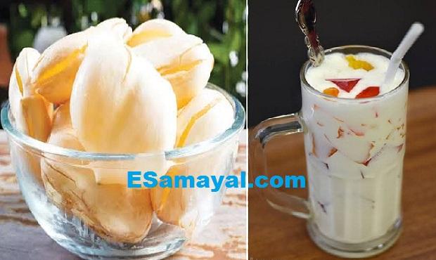 நுங்கு மில்க் ஷேக் செய்வது | Nung Milk Shake Recipe !