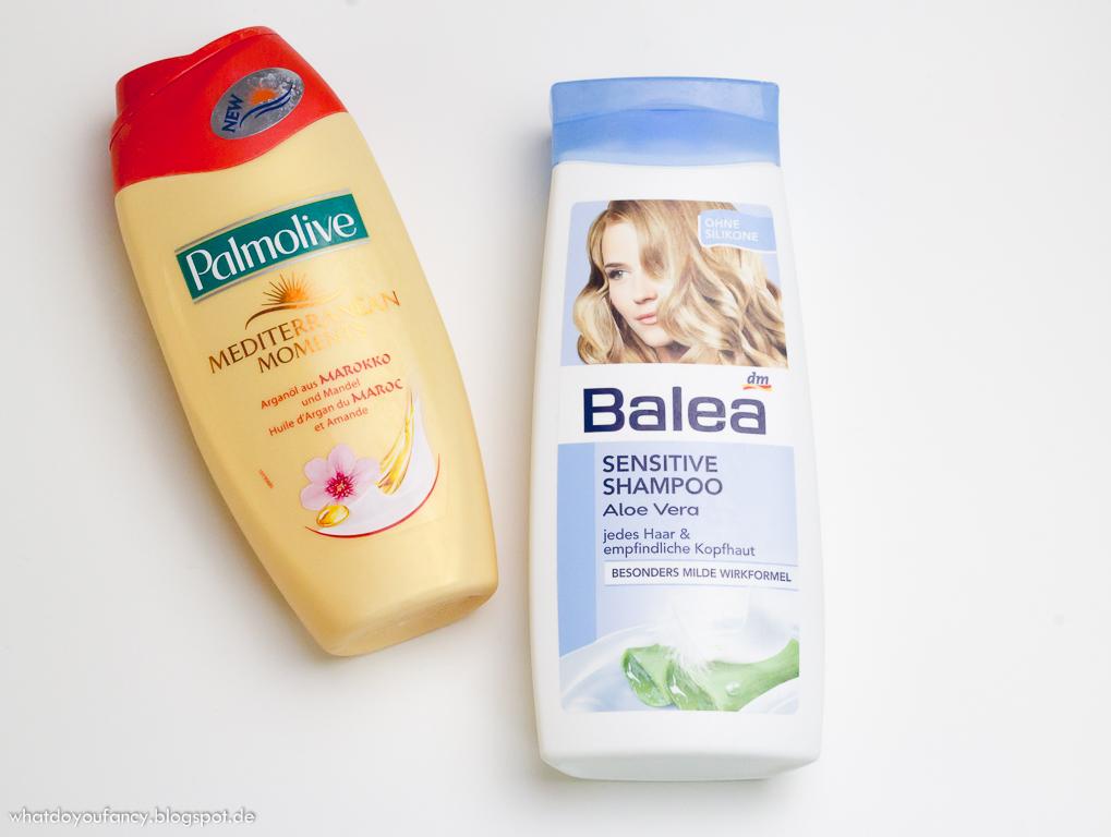 Aufgebraucht und nachgekauft Januar 2015 Duschen Haare