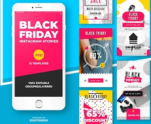 Download Black Friday Instagram Story Feed Templates