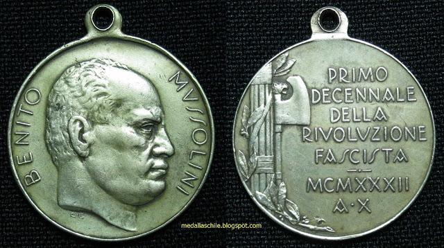 Medalla Revolucion fascista
