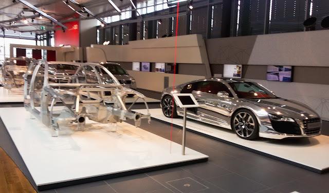 fabryka, Audi, powstawanie aut, chrom, etapy
