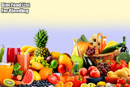 Diet Food List For Bleeding Hemorrhoids