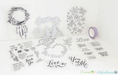 Haul-productos-in-love-arts-tarjeta-de-cumpleaños-en-cartulina-y-haul-in-love-arts-creando-y-fofucheando