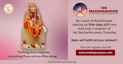 Nothing Is Stagnant - Sai Baba In Orange Idol Image