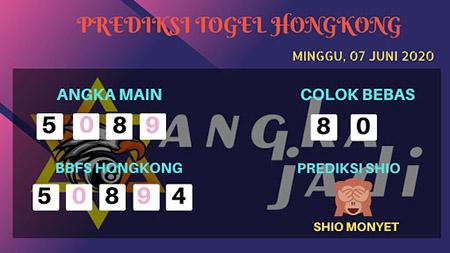 Prediksi HK Minggu 07 Juni 2020 - Bocoran Togel Hongkong