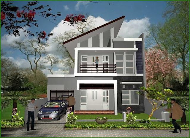 Desain Rumah Minimalis Type 120 Terindah