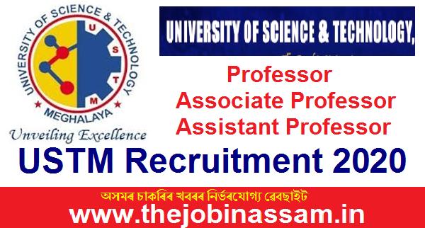 USTM Recruitment 2020: Professor/ Associate Professor/ Assistant Professor [04 Position]