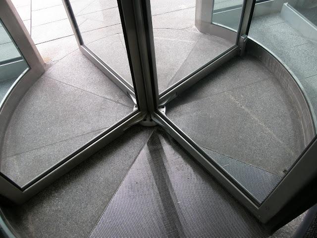 The humble revolving door