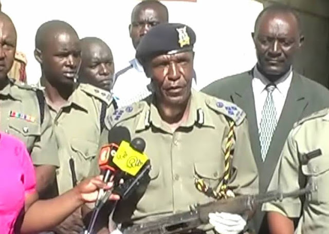 Kisumu County Government head of inspectorate  Willy Lugusa photo