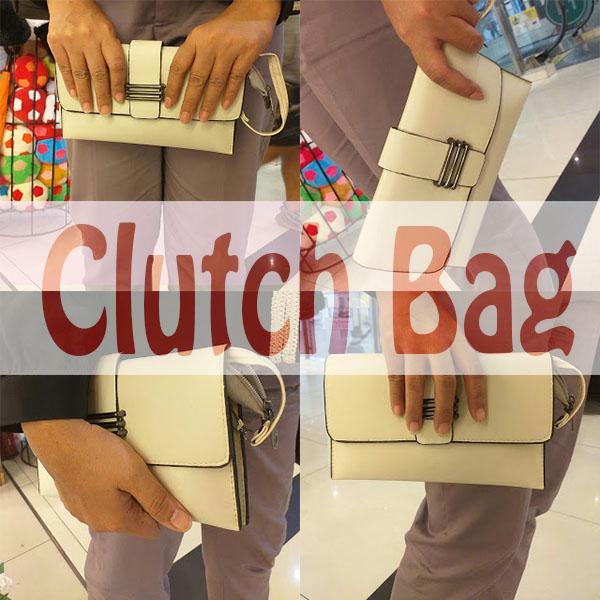 CLUTCH BAG, SEJARAH DAN GAYA PEMAKAIAN CLUTCH