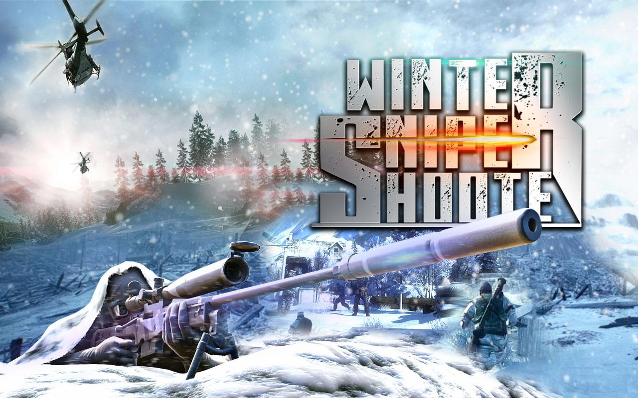 Winter Mountain Sniper Modern Shooter Combat MOD APK terbaru