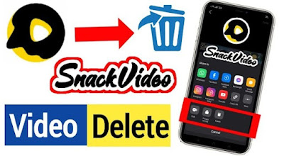How to Delete Permanently Any Video From Snack Video App