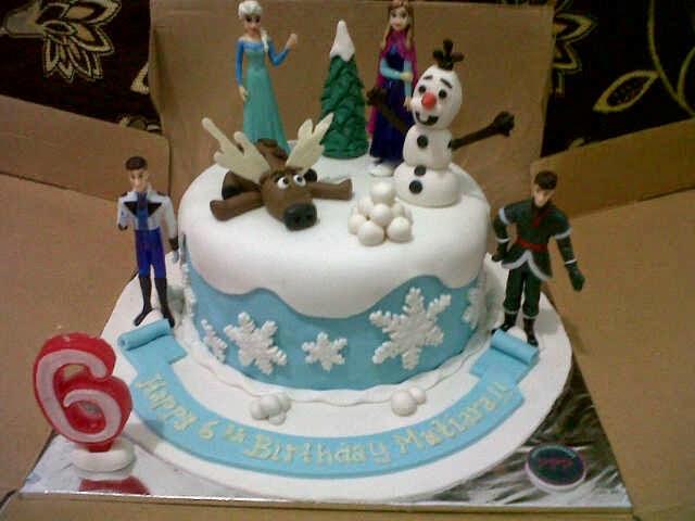Kue Ulang Tahun Bandung Kue Ulang Tahun Anak Frozen