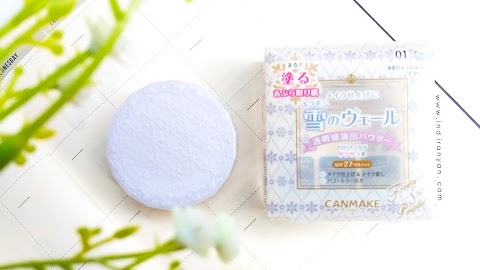 [REVIEW] Canmake - Frosty Mat Snow Powder
