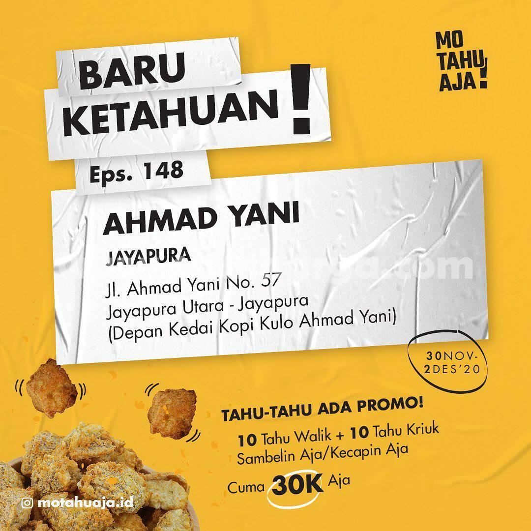 Mo Tahu Aja Jayapura Papua Spesial Promo Opening