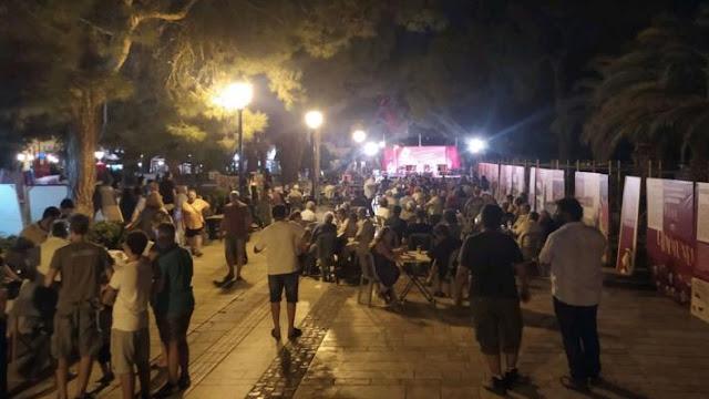 Με επιτυχία το 47ο  Φεστιβάλ της ΚΝΕ - «Οδηγητή» στο Ναύπλιο