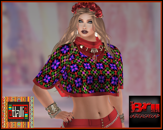 NASCHA ETHNIC STYLE COMPLET OUTFIT * TLALLI MEXICO II *