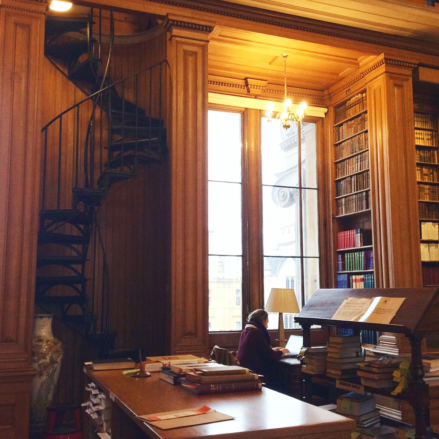 The Taylor Institution, the European languages library at Oxford