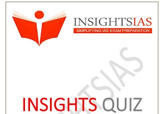 Insights STATIC QUIZ Feb 2020