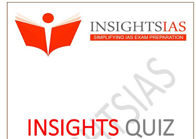 Insights IAS Current Affairs Quiz January 2020