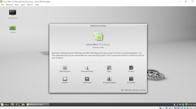 Install Linux Mint 17.3 Rosa On Virtualbox/Windows 10