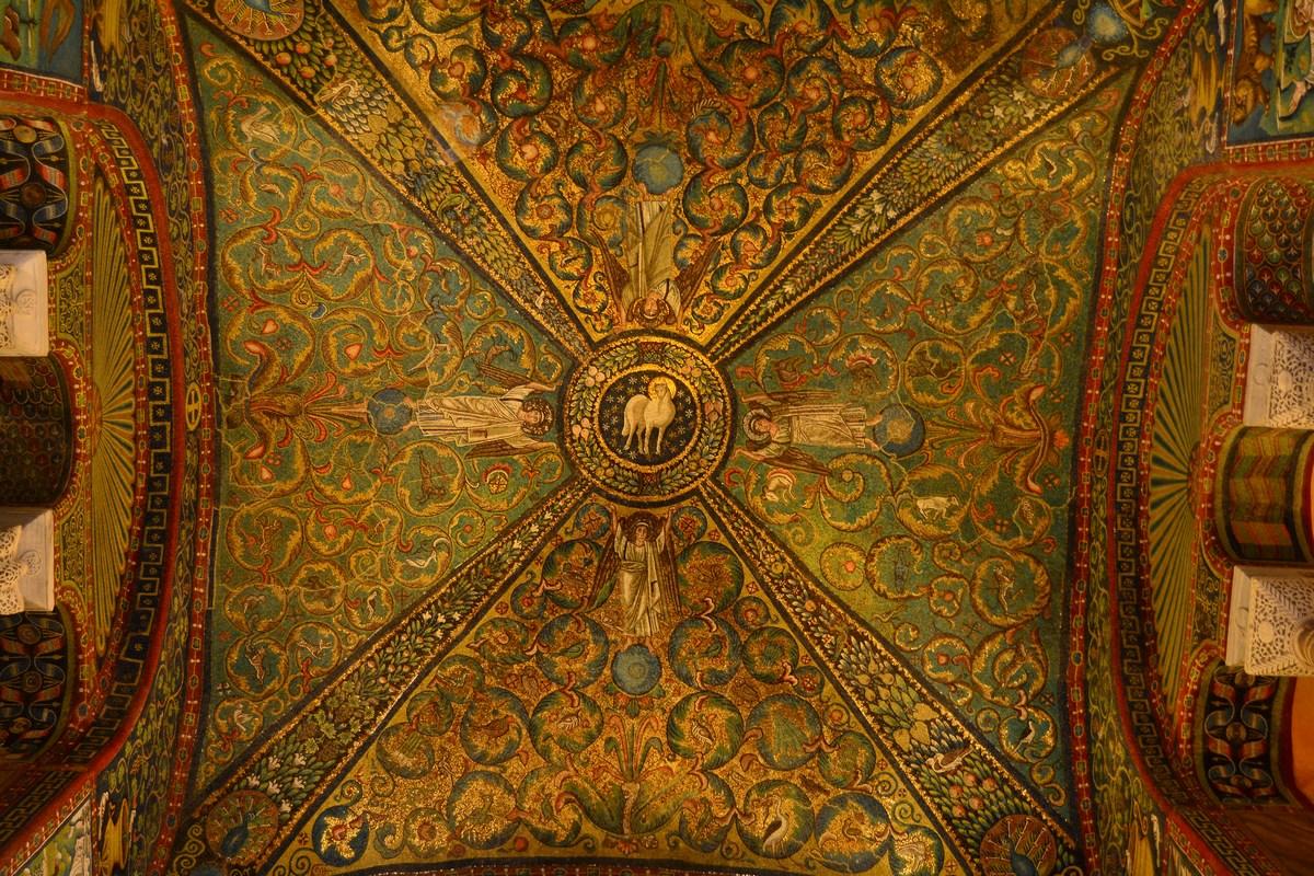 voûte Saint-Vital Ravenne