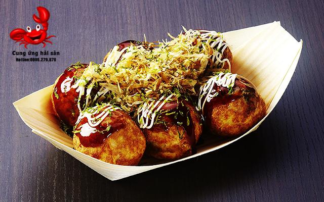 Banh bach tuoc takoyaki - 0905279878