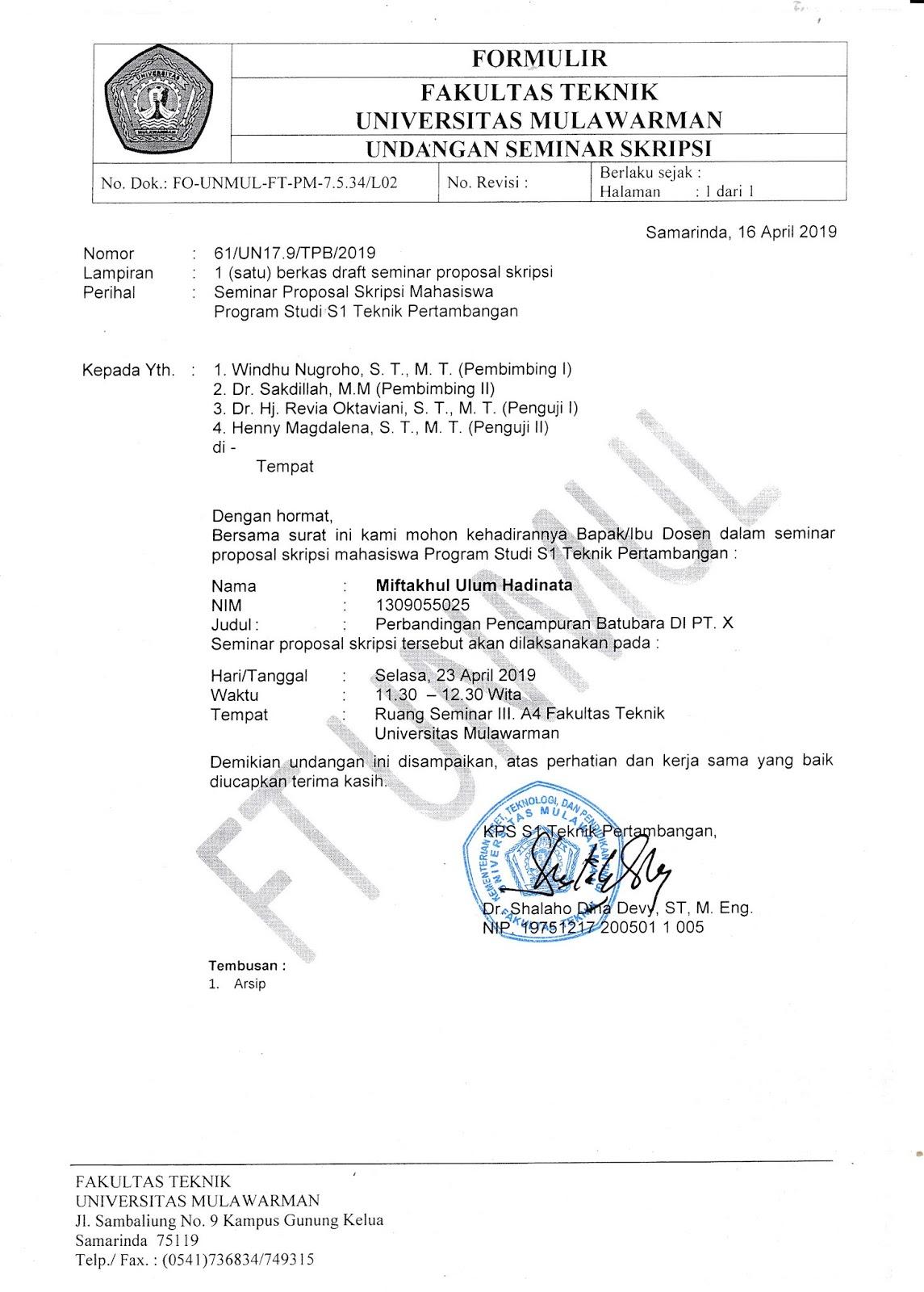 Proposal Skripsi Miftakul Ulum Hadinata 1309055025 Selasa 23 April
