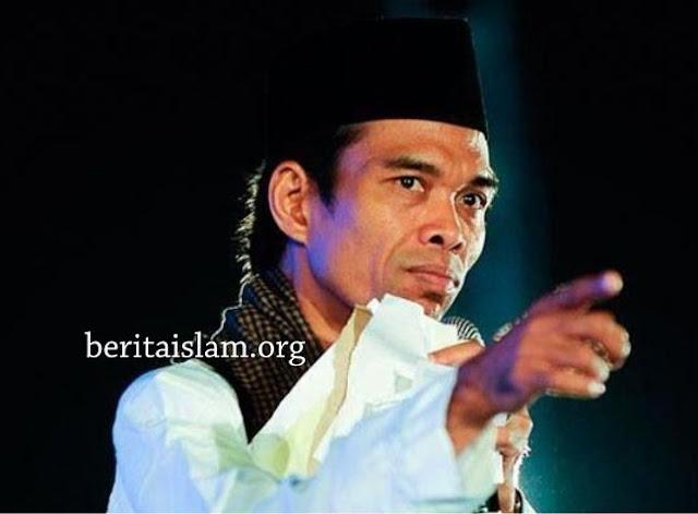 Ustadz Abdul Somad Tak Mau Ikut Sholat Minta Hujan