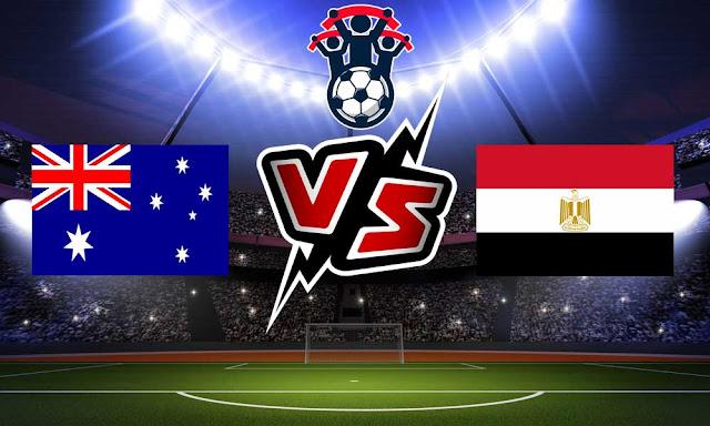 أستراليا ومصر بث مباشر