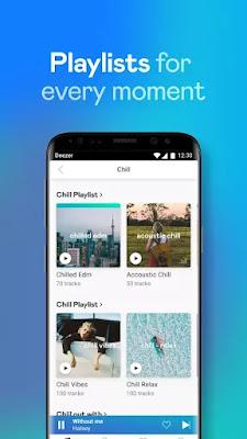 Deezer Premium MOD Apk Multiple Playlist
