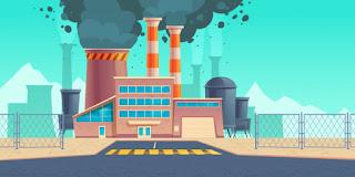 Salahsatu Bahaya Teknologi ialah Polusi Industri