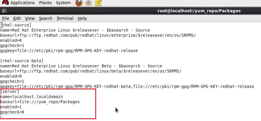 Azad Best Stuff: How to configure YUM Server in Linux(RHEL 6)