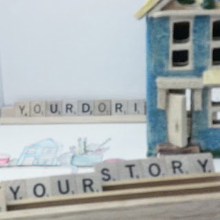Your story, Yourdori Girl, Scrabble Tiles