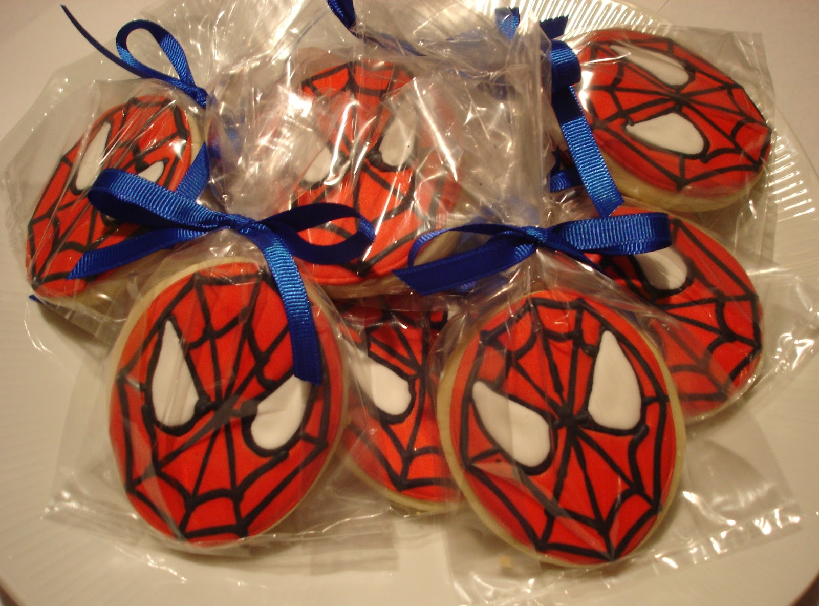 Rantings Of A Stay At Home Mom Spiderman Cookies And