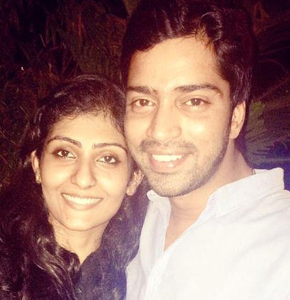 Allari Naresh and his wife: