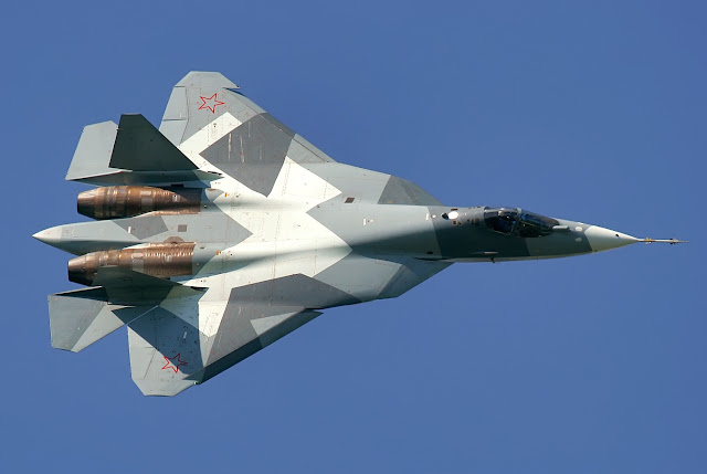 Sukhoi T-50 PAK FA The Fifth Generation Aircraft