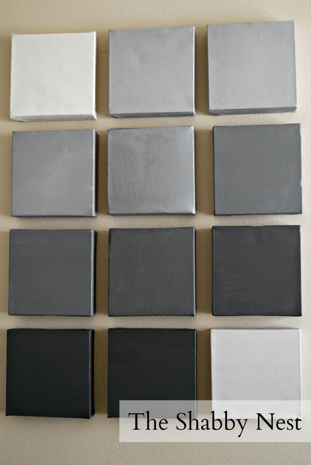 Gray Scale Canvas Wall Art