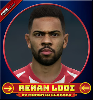 PES 2017 Faces Renan Lodi by M.Elaraby