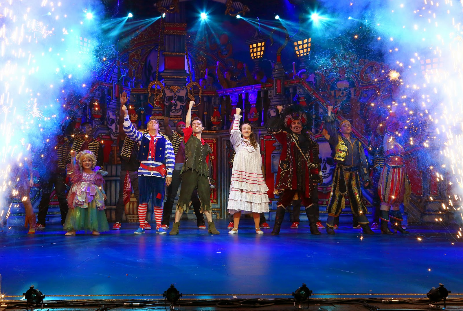Peter Pan Panto at Milton Keynes Theatre December 2014