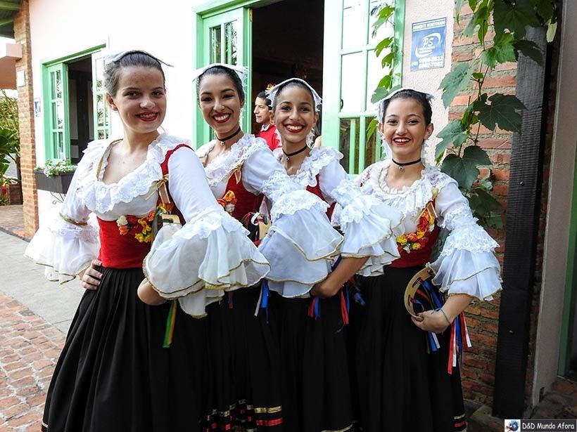 Grupo Folclórico Ítalo Brasileiro - Nova Veneza - Diário de bordo - Encontro Rota Sul em Santa Catarina
