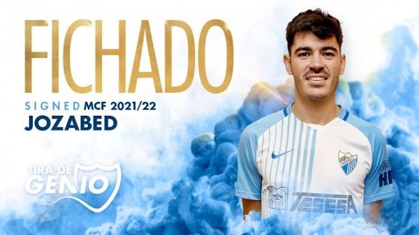 Oficial: El Málaga ficha a Jozabed hasta 2023