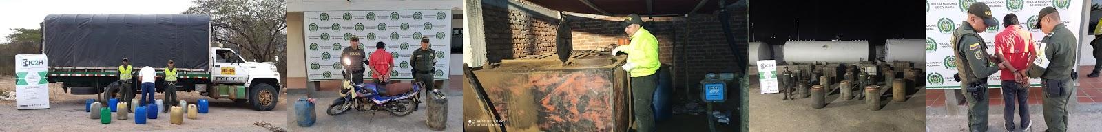 Contrabando de tres mil galones de hidrocarburos cayó en La Guajira