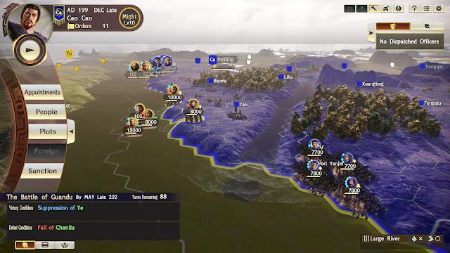 RTK XIV Diplomacy and Strategy Expansion Pack - Batalla Guandu