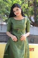 Akshitha cute beauty in Green Salwar at Satya Gang Movie Audio Success meet ~  Exclusive Galleries 016.jpg
