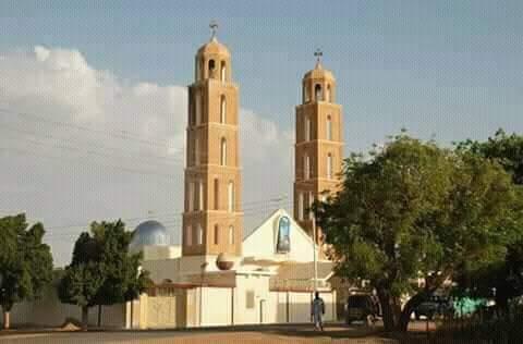 صورة احد مساجد مدينة كوستي