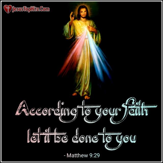 Today Bible Verse   04-12-20   Matthew 9:27-31
